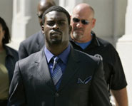 On August 20, 2007, Michael Vick agreed to a plead guilty for charges related to dog fighting.