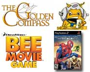 Check out our Golden Compass developer interview, plus previews of Spider-Man: Friend or Foe and The Bee Movie! It's all here.