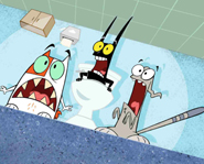 Catscratch is based on the graphic novel Gear.