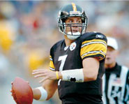 Ben Roethlisberger is the starting quarterback for the Pittsburgh Steelers.