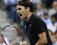 Roger Federer continued his domination of the US Open, as he nocked off Andy Roddick this week in the quarter finals.