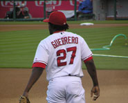 Vladimir Guerrero is one of the best outfielders in the MLB today.