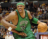 Boston Celtics star Paul Pierce attented Inglewood High School in California.