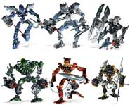 The Toa Inika have been transformed into Toa Mahri to battle the evil Barraki! We review the new LEGO kits.