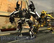 Join the Transformers in their battle for the All Spark as the heroic Autobot Bumblebee in this free PC game demo!