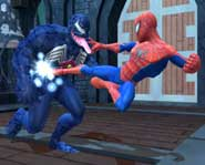 Hop into spiderman's tights and try out the action of his new Spider-Man: Friend or Foe video game with this free demo!