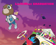 Graduation is Kanye West's third studio album.
