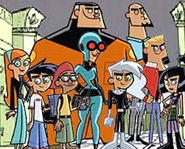 Danny Phantom was conceived by the creator of The Fairly OddParents.