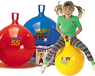 Get your fitness on with a Hop Ball!