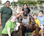Shaq helped a group of six obese kids lose a total of 285 lbs!