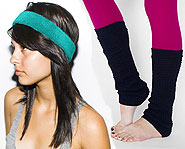 American Apparel's workout accessories are fashionable enough to wear every day!