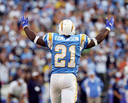 San Diego Chargers' running back LaDainian Tomlinson was the 2006 NFL MVP.