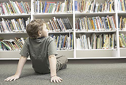 Volunteer at your school library.