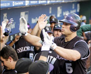 The Colorado Rockies went on amazing late-season run to secure a spot in the playoffs.