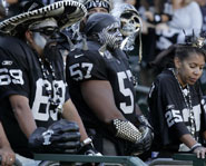 The Oakland Raiders' fan base is nicknamed Raider Nation.