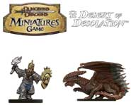 Get a sneak peek at Bruenor Battlehammer and other figures from the upcoming Dungeons & Dragons Miniatures set!