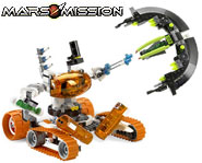 Explore Mars, gather energy and fend of aliens with this two-in-one LEGO Mars Mission kit! We review it here.