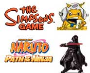 Get the latest video game news on Naruto, Star Wars, The Simpsons and even Mario & Sonic! Get the pics, videos and more, here.