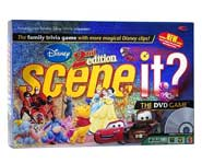 Test your Disney trivia skills with this fun DVD board game for 2-4 players, or an entire party! We review it here.