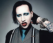 Marilyn Manson dresses for Halloween year-round.
