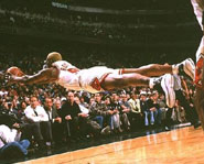 Even with all his crazy antics, Dennis Rodman is one of the best rebounders in NBA history.
