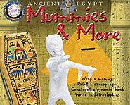 With Ancient Egypt: Mummies & More, you'll get to wrap a mummy and paint Egyptian artifacts!
