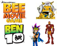 Get videos for the Bee Movie Game and Ben 10, previews of Iron Man and Barbie plus the 411 on the Yu-Gi-Oh! World Championship and Puzzle Quest on PC!