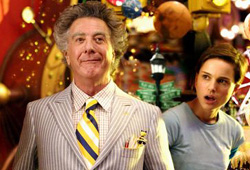 Mr. Magorium's Wonder Emporium stars Natalie Portman and Dustin Hoffman.