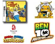 Check out videos for Ben 10, The Simpsons Game, Sonic Rivals and Mario & Sonic at the Olympic Games! Plus, Pokemon and Yu-Gi-Oh! News.