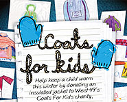 Help kids stay warm this winter by donating your old coats to West 49 Coats for Kids!