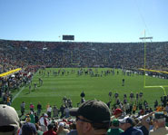 Notre Dame Stadium is one of the most historic and popular College Football Stadiums.
