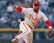 Jimmy Rollins of the Philadelphia Phillis is the winner of the 2007 NL MVP.