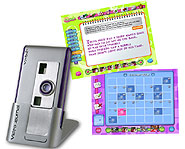 Customize your interactive diary by taking photos and videos with the digital camera!