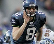 Matt Hasselbeck of the Seattle Seahawks is one of the best quarterbacks in the NFL.