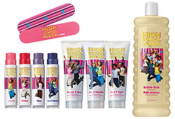 Check out the High School Musical bath and body collection at Avon!