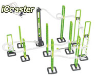 It's part toy and part science project! The iCoaster is a magnetic rollercoaster kit with music! How cool is this toy? Here's our iCoaster review.