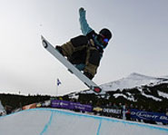 20-year-old Mason Aguirre is one of the rising star in snowboarding.