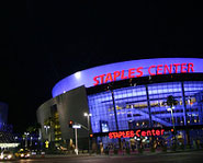 The Staples Center is one of the most famous arenas in the world.