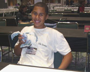 Gary interviewed the D&D Miniatures World Champion  14 year-old Eddie Wehrenberg Jr. Heres what he had to say!