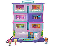 Pixel Chix Roomies House and Roomies Friends.