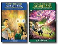 Four kids, magic gems and a huge adventure to save the Earth from slavery at the hands of alien monsters! Get the 411 with our Planet Treasure Guardians book reviews.