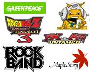 We have the 411 on Greenpeace challenging game consoles, Rock Band getting robbed, DBZ Wii videos, MX vs. ATV previews and more!