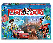 Buy a board game like the Monopoly Disney/Pixar Edition that's fun for the whole family!