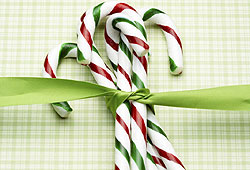 Candy canes make great stocking stuffers!