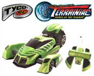 Get outdoors and get dirty with the Tyco R/C Terrainiac!