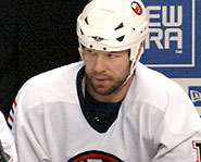 Chris Simon of the New York Islanders was suspended a record 30 games by the NHL.