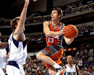 Steve Nash and the Phoenix Suns meet the Los Angeles Lakers on Christmas Day.