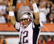 This week, the New England Patriots finished the 2007 NFL season undefeated.
