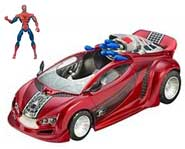 Spider-Man rolls into action in his hot new Web Rocket Spider-Car! We review this new toy right here.