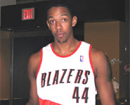 Channing Frye of the Portland Trailblazers attended high school at St. Mary's Prep in Phoenix, AZ.